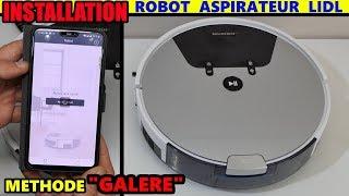 Aspirateur robot LIDL SILVERCREST SSRA1 installation galère ! Robot Vacuum Cleaner Saugroboter