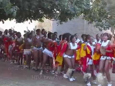 """reed dance"" an Zulu tradition"