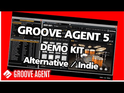 GROOVE AGENT 5 - Demo Alternave Indie Kit