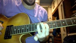 Sublime - (Santeria) Guitar Solo Lesson / Tutorial Video Aula Guitarra by Pedro Machado