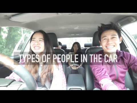Bloopers: Types of People In The Car