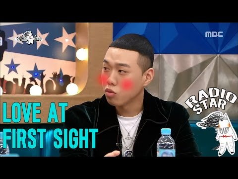 [RADIO STAR] 라디오스타 - At first sight with his girlfriend five years courting BewhY.20170111