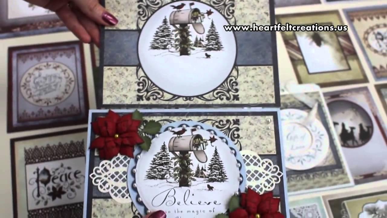 Heartfelt Creations Christmas Card Collection Ideas YouTube