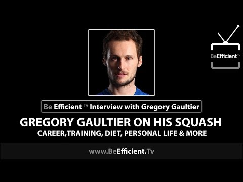 Gregory Gaultier on His Squash Career, Training, Diet, Personal Life & More
