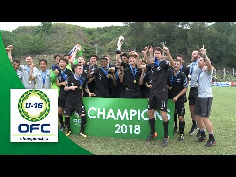 2018 OFC U-16 CHAMPIONSHIP FINAL - SOLOMON ISLANDS v NEW ZEALAND Highlights