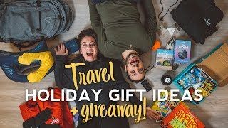 Holiday Gift Ideas for Travel + Giveaway