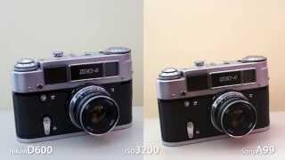 DRTV по-русски: Nikon D600 против Sony SLT-A99