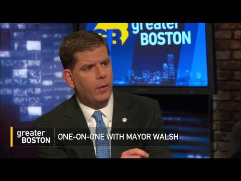 Mayor Marty Walsh On The Olympics, Schools & Casinos & More