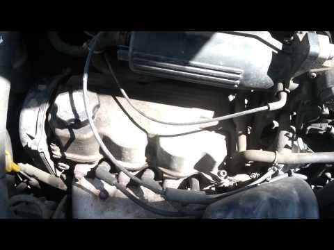 Работа двигателя Daewoo Matiz 0.8.