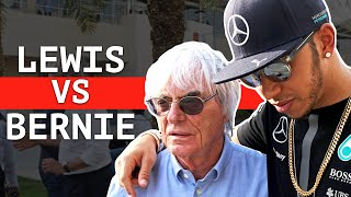 "Hamilton Slams ""Ignorant and Uneducated"" Bernie Ecclestone  - Bernie:"