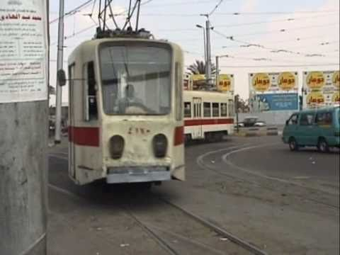 CAIRO TRAMS EGYPT 1997