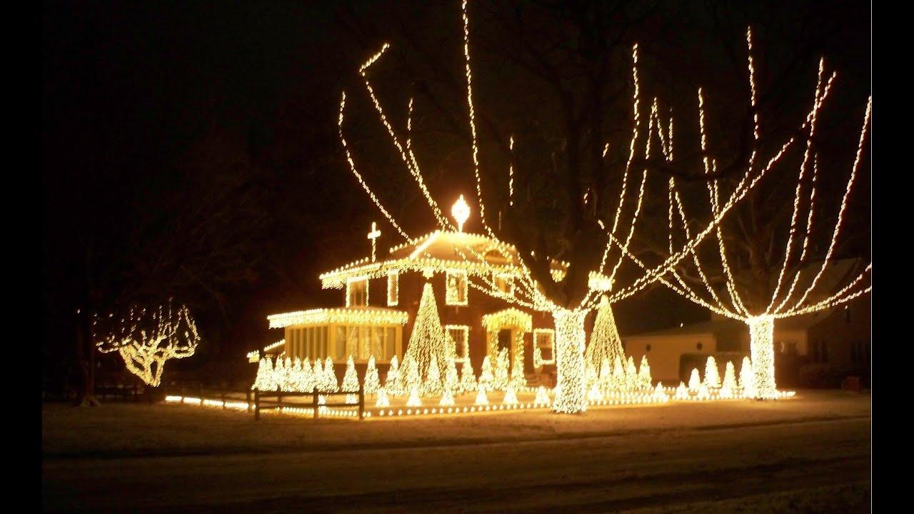 Christmas Lights 2013 - Amazing Grace - YouTube