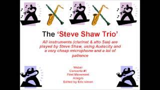 Webber Clarinet Concerto No.1 -  First Movement - allegro