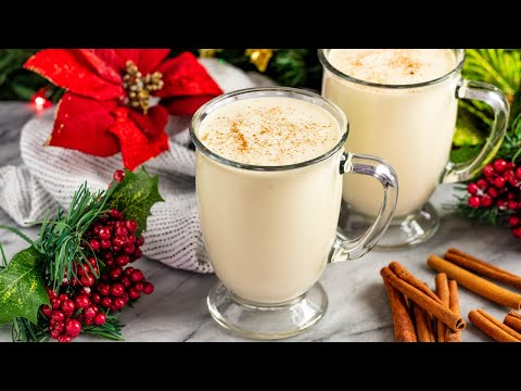 How to make eggnog non alcoholic and fully cooked youtube how to make eggnog non alcoholic and fully cooked forumfinder Gallery