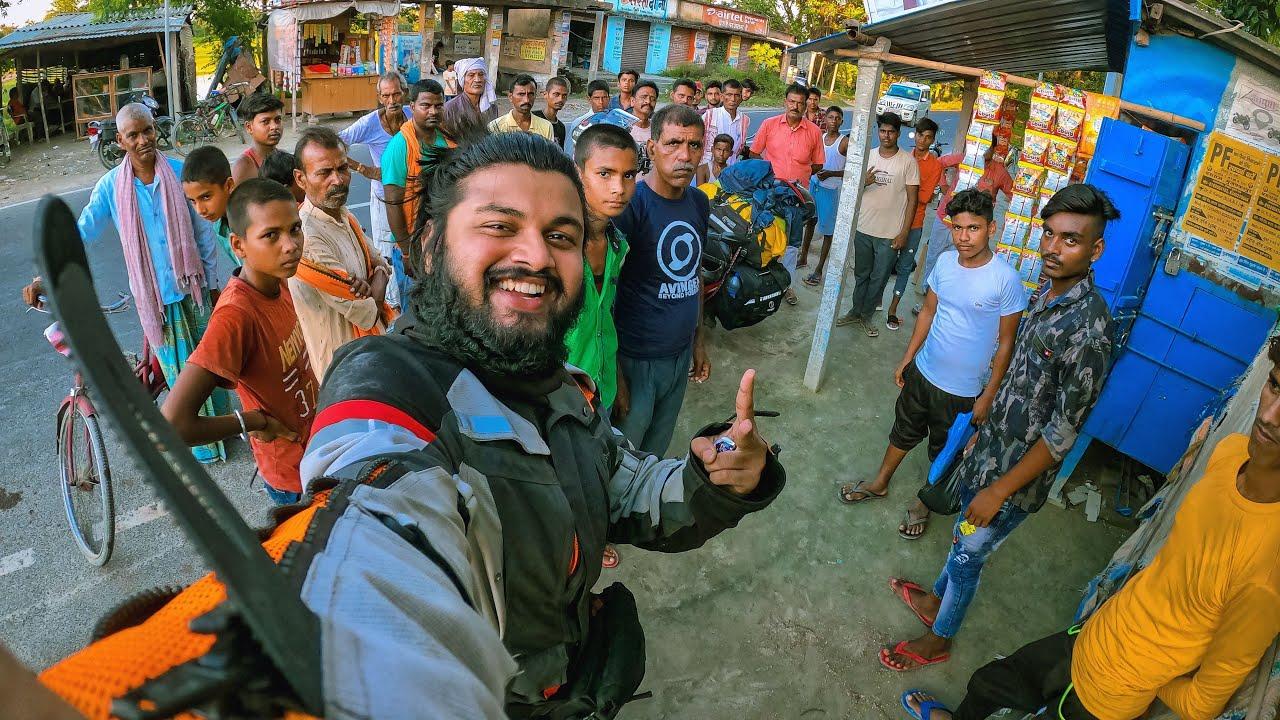 Epic reactions after entering Bihar : Siliguri to Bihar | Tour of Ladakh & Spiti EP. 04