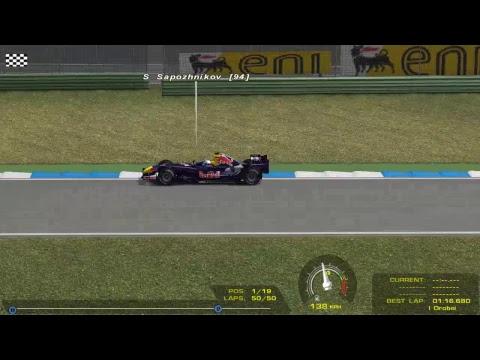 F1 2006 online. 12 этап - Гран-при Германии