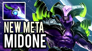 NEW META by MidOne TOP 1 MMR Faceless Void with Diffusal Blade 9130 MMR 7.02 Dota 2
