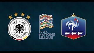 Germany vs France | UEFA Nations League 2018/19 | League A Group 1 | Simulation
