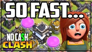 HOW Did We Go SO FAST?! Clash of Clans No Cash Clash 29