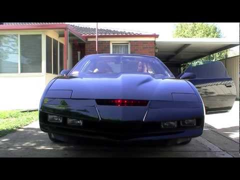 KITT Replica Scanner & Turbine Sound Test