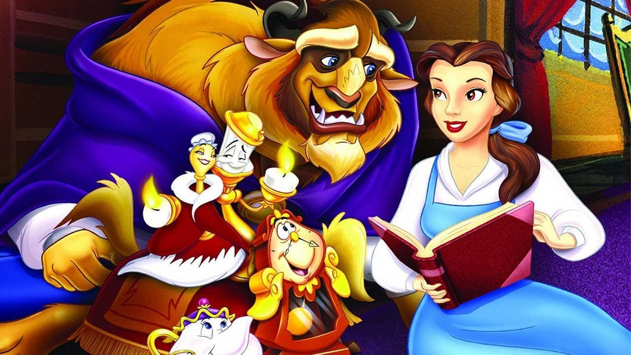 Disney Princess Belle Beauty And The Beast Mrs Potts Teatime Table Coloring Decoration Youtube