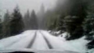 Driving in the Siskiyou Mountains