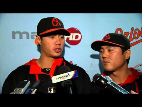 Wei-Yin Chen speaks after his possible last start with the Orioles