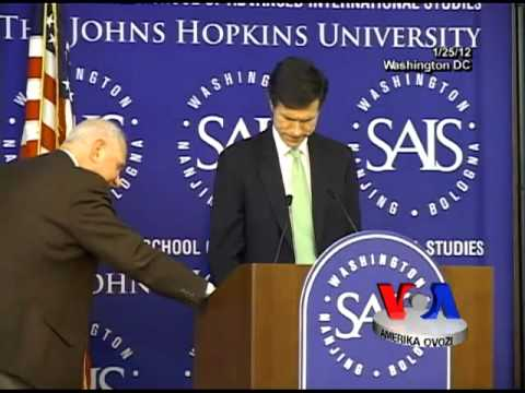 Assistant Secretary of State Robert Blake on US policy in Central Asia, JHU, Jan 25, 2012