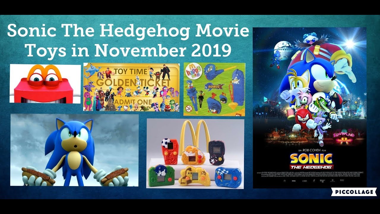 Mcdonald S May Get Sonic The Hedgehog Movie Happy Meal Toys In