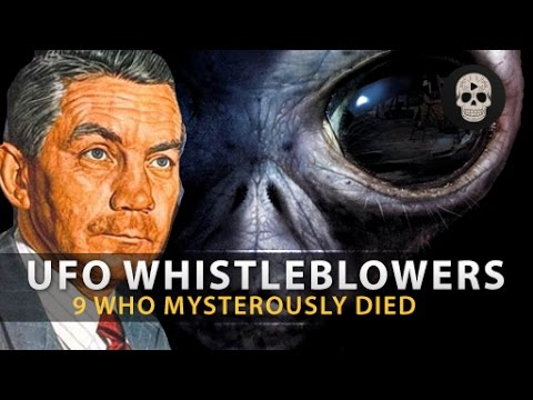 9 UFO Whistleblowers Who Mysterously Died