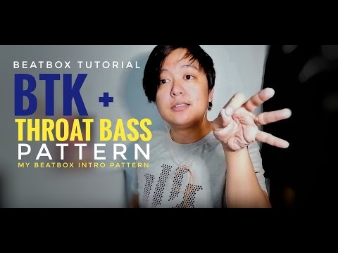 Technical Pattern + Throat Bass Combo Beatbox Tutorial