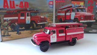 Автоцистерна пожежна АЦ 30 на шасі Зіл-130 Автоісторія (ЛЕЛЕКА)