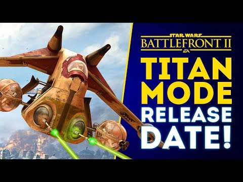 New Titan Mode RELEASE DATE! New Hero Skin for Count Dooku! - Star Wars Battlefront 2 thumbnail