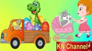 Hoạt hình KN Channel BÉ NA VÀ CHÚ KHỦNG LONG CÓ PHÉP THUẬT