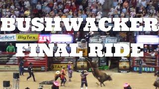 Las Vegas Events: Bushwacker Bull Last Ride PBR Bull Riders 2014