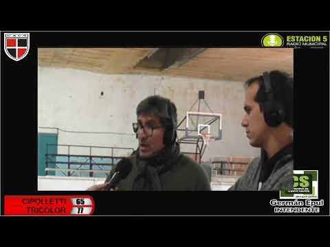 Básquet en vivo: Cipolletti vs. Cinco Saltos