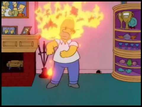 """Homero ''SOY INTELECTUAL MUY INTELIGENTE"""""""