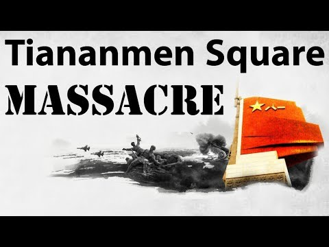 Tiananmen Square Massacre - चीनी छात्रों द्वारा सरकार के खिलाफ विद्रोह - Chinese Protest of 1989
