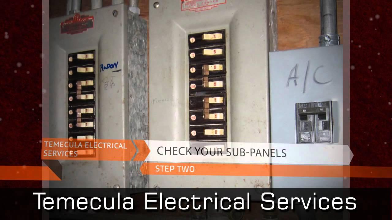 Temecula Electrician Explains Fuse Box Breaker Panel Safety Youtube