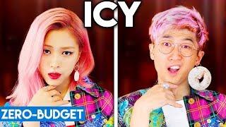 Download lagu K-POP WITH ZERO BUDGET! (ITZY - ICY)
