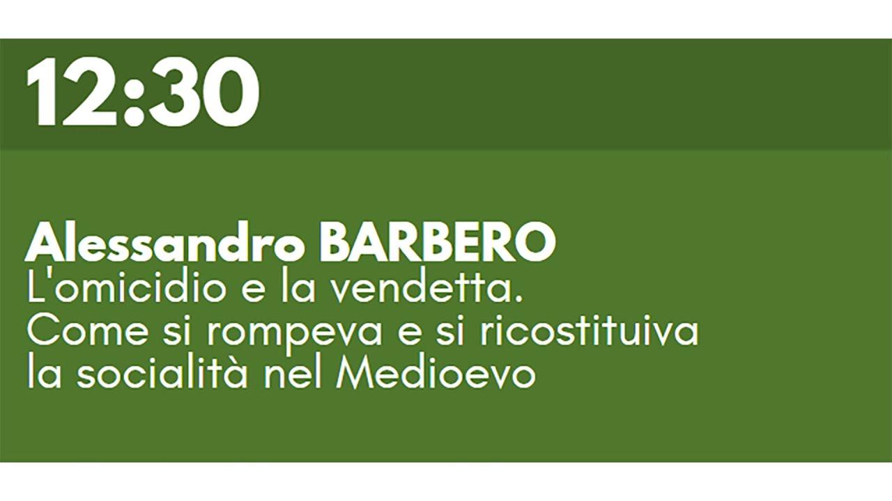 Download Alessandro BARBERO - L'omicidio e la vendetta.