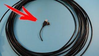 USB УДЛИНИТЕЛЬ ПО ВИТОЙ ПАРЕ до 50 метров ЗА 3 мин \ DIY USB extension cable