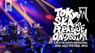 "Tokyo Ska Paradise Orchestra performs ""Theme from the Godfather"" li..."