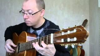 Тонкая рябина на гитаре