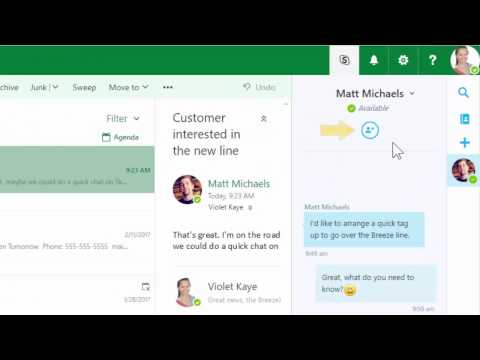 How To Use Skype To Chat In Office 365