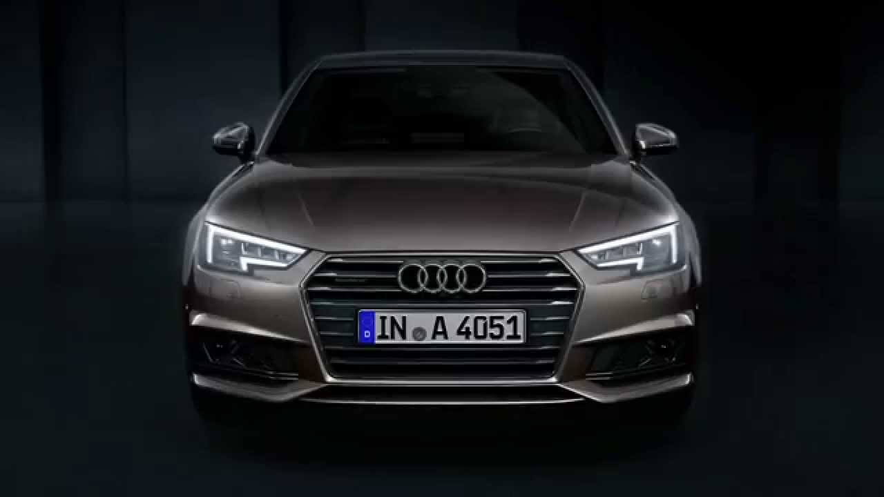 Die Audi Matrix LED-Scheinwerfer im Audi A4 - YouTube
