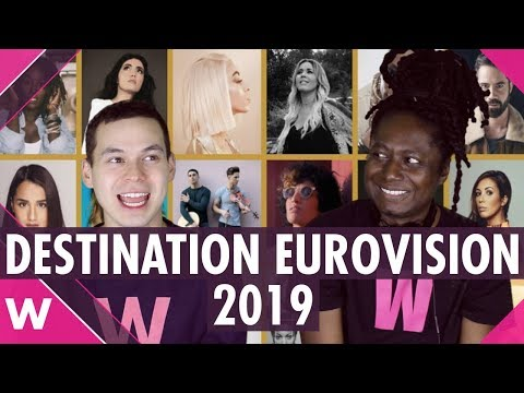 Destination Eurovision 2019 (France) - Reaction to all 18 songs