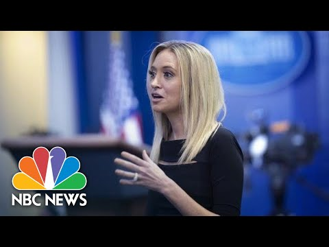 Live: Press Secretary Kayleigh McEnany Holds First White House Briefing | NBC News