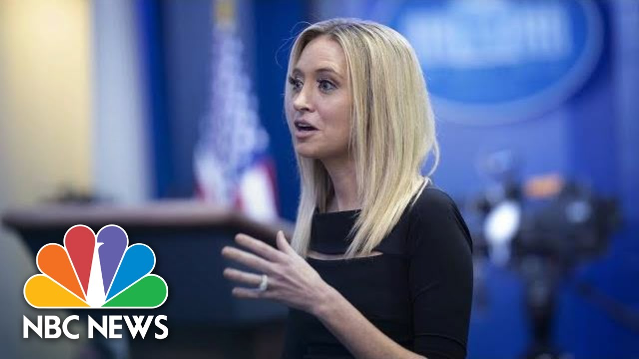 New White House press secretary Kayleigh McEnany: Don't believe ...