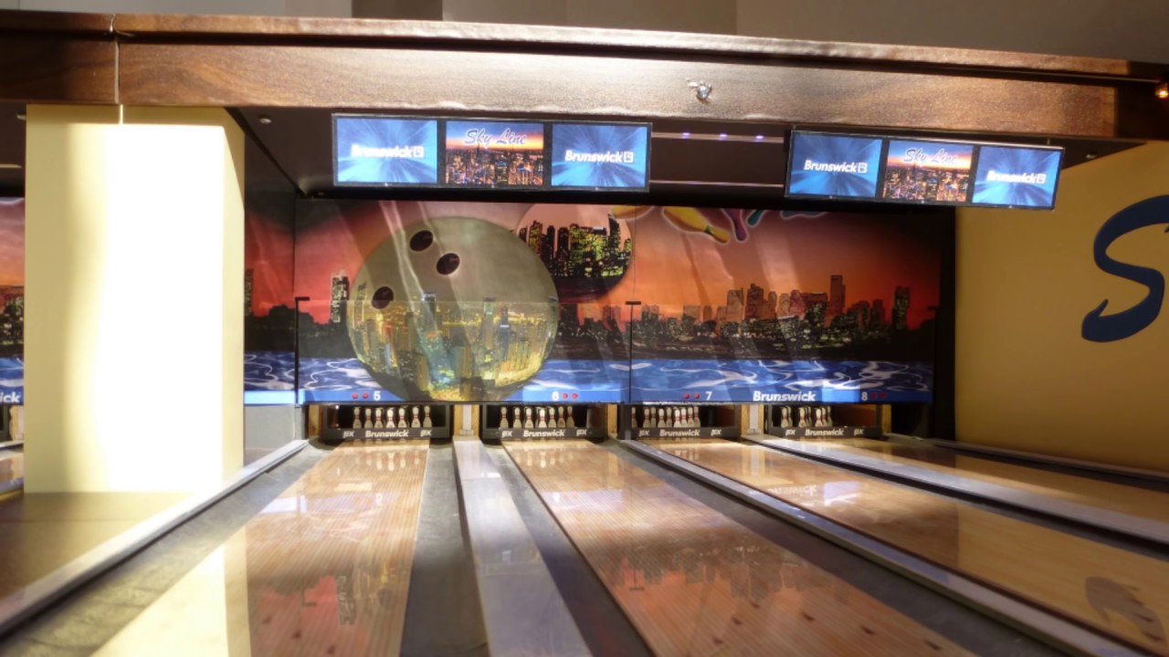 Homemade Bowling Alley